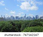 new york city skyline | Shutterstock . vector #767162167