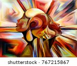 stained glass forever series.... | Shutterstock . vector #767215867