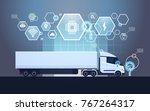 set of infographic elements...   Shutterstock .eps vector #767264317