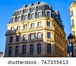 paris  france  on october 27 ... | Shutterstock . vector #767355613
