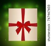 christmas festive background...   Shutterstock .eps vector #767467603