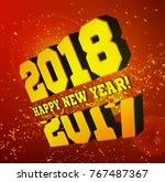 congratulations on the new year ... | Shutterstock .eps vector #767487367