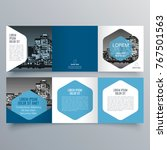 brochure design  brochure... | Shutterstock .eps vector #767501563