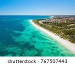 aerial photo looking north from ... | Shutterstock . vector #767507443