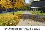 empty billboard with plenty of... | Shutterstock . vector #767561023
