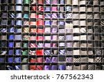 large selection of ties in men'... | Shutterstock . vector #767562343