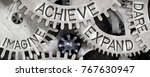 macro photo of tooth wheel... | Shutterstock . vector #767630947