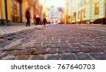 creative abstract urban... | Shutterstock . vector #767640703