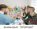 cheers to the new year | Shutterstock . vector #767691667