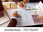 group business concept  ... | Shutterstock . vector #767752447
