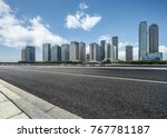 urban traffic road with...   Shutterstock . vector #767781187