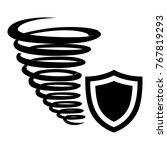 hurricane protection icon.... | Shutterstock .eps vector #767819293