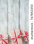 presents for any holiday... | Shutterstock . vector #767852353