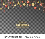holiday background. christmas...   Shutterstock .eps vector #767867713