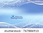 modern structure molecule dna.... | Shutterstock .eps vector #767886913