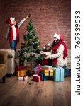 family  holidays  generation ... | Shutterstock . vector #767939593
