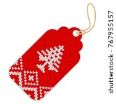 tag for a full sale  seasonal... | Shutterstock .eps vector #767955157