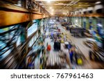 factory shop  view from the top ... | Shutterstock . vector #767961463