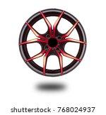 alloy wheels on white | Shutterstock . vector #768024937
