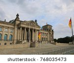 berlin  germany   august 18 ... | Shutterstock . vector #768035473