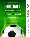 football league tournament... | Shutterstock .eps vector #768041803
