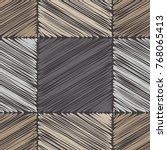 seamless geometric pattern.... | Shutterstock .eps vector #768065413