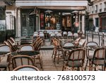 typical view of the parisian...   Shutterstock . vector #768100573