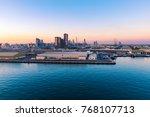 port of abu dhabi | Shutterstock . vector #768107713