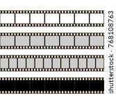 film strip set. collection of... | Shutterstock .eps vector #768108763