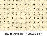 beautiful geometric pattern... | Shutterstock .eps vector #768118657
