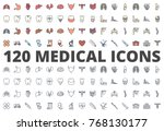 medical medicine organs icon... | Shutterstock .eps vector #768130177