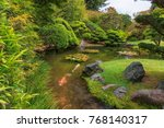 a view of the native japanese... | Shutterstock . vector #768140317