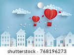 illustrations of love and... | Shutterstock .eps vector #768196273