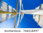 impressions from a sailing ship ... | Shutterstock . vector #768218497