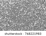 silvery soft blurred boke... | Shutterstock . vector #768221983