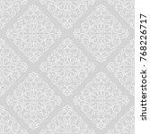 vector seamless endless pattern.... | Shutterstock .eps vector #768226717