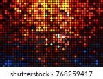 lights background. abstract... | Shutterstock . vector #768259417