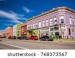 usa. colorado. leadville.... | Shutterstock . vector #768373567