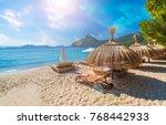 playa de formentor  cala pi de... | Shutterstock . vector #768442933