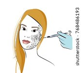 vector illustration for a... | Shutterstock .eps vector #768486193