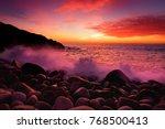 Beautiful Purple Tinted Waves...