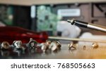 screw and screwdriver for... | Shutterstock . vector #768505663