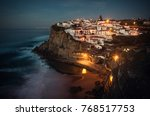 view of beautiful town of... | Shutterstock . vector #768517753