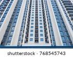 huge resident apartment... | Shutterstock . vector #768545743