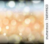 cool bokeh background | Shutterstock .eps vector #768549823