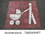 parents with prams sign    Shutterstock . vector #768569497