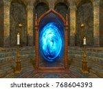 3d cg rendering of the... | Shutterstock . vector #768604393
