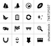 collection icons. vector...