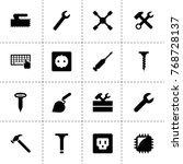 hardware icons. vector...