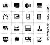 display icons. vector...